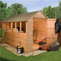 Sheds  - XXL Popular Apex Wooden Shed