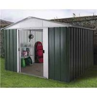 Yardmaster 1010GEYZ Metal Shed 10ft x10ft