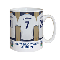 Cups & Mugs|Other English Clubs  - Personalised West Brom Dressing Room Mug