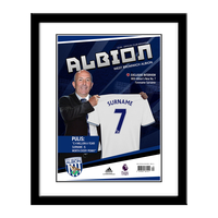 Photography, Prints & Posters|Other English Clubs  - Personalised West Brom Magazine Front Cover - Contemporary Frame