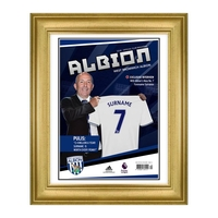 Photography, Prints & Posters|Other English Clubs  - Personalised West Brom Magazine Front Cover - Deluxe Frame