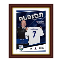 Photography, Prints & Posters|Other English Clubs  - Personalised West Brom Magazine Front Cover - Special Frame