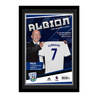 Photography, Prints & Posters|Other English Clubs  - Personalised West Brom Magazine Front Cover -Contemporary Frame