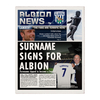 Personalised West Brom Newspaper - Single Page
