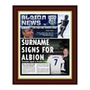 Personalised West Brom Newspaper - Special Frame