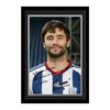 Arsenal London|Other English Clubs Personalised West Brom Yacob Autograph Photo - Mounted & Framed
