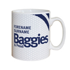 Personalised West Bromwich Albion Baggies and Proud Mug