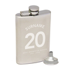 Address Books, Fax & Telephone Directories,  Timetables & Shopping Guides|Other English Clubs Personalised West Bromwich Albion Name on Shirt Hipflask