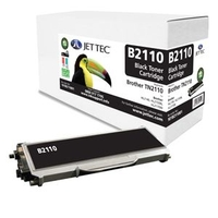 Brother  - Brother TN2110 Black Laser Toner Cartridge by JetTec - B2110