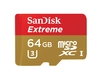 SanDisk Extreme Micro SDXC Memory Card 60MB/s UHS-3 (Class 10) with Adapter - 64GB
