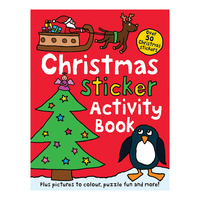 First Books & Pre-School  - Christmas Sticker Activity Book