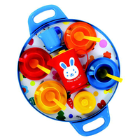 Serving Trays  - Gowi Afternoon Tea Tray Blue