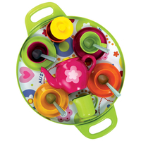 Baby Toys  - Gowi Afternoon Tea Tray Pink