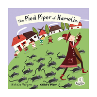 First Books & Pre-School  - The Pied Piper of Hamlin - Flip-Up Fairy Tale