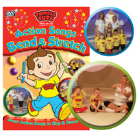 Tumble Tots Action Songs DVD Bend & Stretch