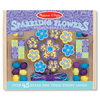 Wooden Bead Set - Sparkling Flowers