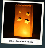 Gifts  - Chunky Star Candle Bags