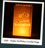 Happy Birthday Candle Bags