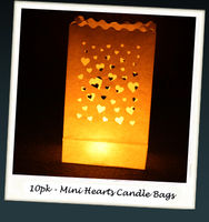 Gifts  - Mini Heart Candle Bags
