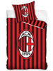 AC Milan Stripe Single Cotton Duvet Cover Set