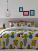 Cacti Single Duvet Cover and Pillowcase Set
