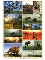 Wallpaper  - Discovery Channel Dinosaur Wall Mural 232cm x 158cm