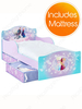 Disney Frozen Toddler Bed with Underbed Storage and Deluxe Foam