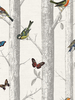 Epping Birds on Branches Wallpaper White Holden 12231