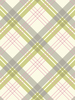 Fairburn Tartan Wallpaper Green and Pink Arthouse 252702