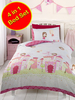 Fairy Castle 4 in 1 Junior Bedding Bundle (Duvet and Pillow and