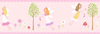 Fairy Garden Self Adhesive Wallpaper Border