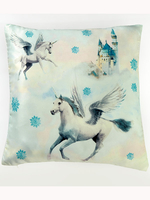 Home & Garden|Arsenal London|Sofa Cushions  - Fairytale Unicorn Reversible Cushion