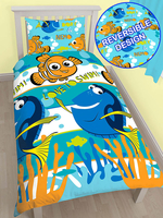 Finding Nemo Dory Single Duvet Cover and Pillowcase Set
