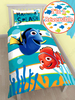 Finding Nemo Dory Single Panel Duvet Cover and Pillowcase Set