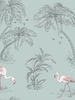 Flamingo Lake Wallpaper Duck Egg Holden 12380