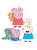 Peppa Pig Foam Elements Wall Decor