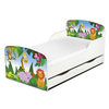 PriceRightHome Jungle Exclusive Design Toddler Bed with Underbed