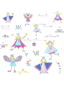 Room Mates Fairy Princess Wall Stickers