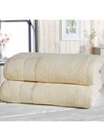 Royal Velvet 2 Piece Towel Bale Cream