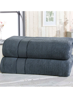 Royal Velvet 2 Piece Towel Bale Denim