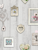 Shabby Chic Frames Wallpaper Windsor Wallcoverings 1044