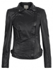 Leather Jackets & Coats|Leather Trousers Muubaa Pola Leather Moto Jacket in Black