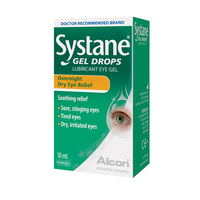 Contact lenses  - Systane Gel Drops (10ml)