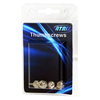 4 Pack of Atrix PC Case Thumb Screw for Computer Components and Chassis etc.