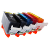 Canon 7dayshop Non-OEM Ink Cartridge PGI-520 / CLI-521 Multipack for Canon