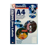 A4 70g Self Adhesive CD / DVD Disc Labels - 15 Sheets (30 Labels)