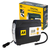 AA Essentials LCD Digital Air Tyre Compressor with 3 Mode LED Lamp