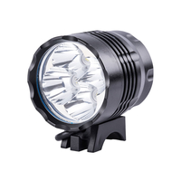 Lights  - Am-Tech Rechargeable 3 Mode CREE XP-G LED Bike Light and Headlight Kit