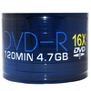 Aone DVD-R 16x Full-Face Inkjet Printable Discs - 4.7GB 120min - Spindle Pack or 50