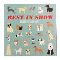 Gifts  - Best In Show Dogs Sticky Notes